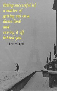 Lee Miller quote