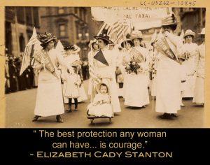 Wisdom from Elizabeth Cady Stanton