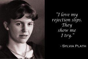 Sylvia Plath on Rejection Slips
