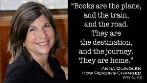 Anna Quindlen on Books