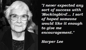 Harper Lee on Expecting Success