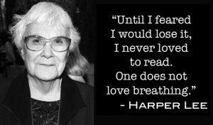 Harper Lee on Reading