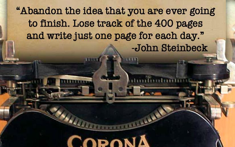 John Steinbeck on writing