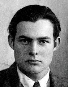Hemingway Passport photo 1923