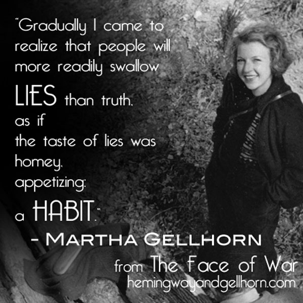 Gellhorn Lies Quote