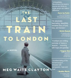 Bookseller Raves for The Last Train to London (now in 18 Languages) — and a prepublication copy for you!